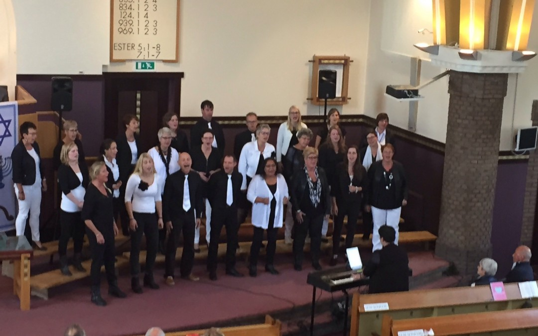 Optreden Israel zondag Gereformeerde kerk Voorthuizen